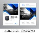 brochure cover design layout...   Shutterstock .eps vector #425957734