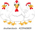 cute rooster cart | Shutterstock . vector #425960809
