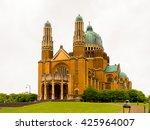 national basilica of sacred... | Shutterstock . vector #425964007