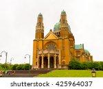 national basilica of sacred... | Shutterstock . vector #425964037