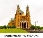national basilica of sacred... | Shutterstock . vector #425964091
