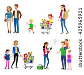 concept banner for shop. vector ... | Shutterstock .eps vector #425965921
