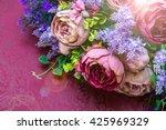 Artificial Flower Bouquet On A...