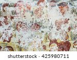 texture of an old dirty wall... | Shutterstock . vector #425980711