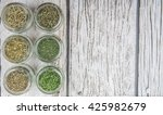 dried parsley  estragon ... | Shutterstock . vector #425982679