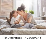 happy loving family. mother and ... | Shutterstock . vector #426009145