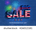 independence day. big sale... | Shutterstock .eps vector #426012181