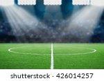 soccer field | Shutterstock . vector #426014257
