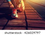 healthy lifestyle sports woman... | Shutterstock . vector #426029797