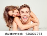 Cheerful Smiling Couple In Lov...