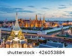 grand palace and wat phra keaw... | Shutterstock . vector #426053884
