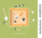 Archeology Science. Ancient...