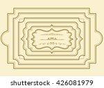 frame set vector | Shutterstock .eps vector #426081979