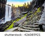Vernal Falls At Dawn  Yosemite...