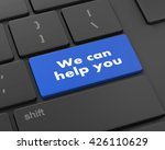 we can help you written on... | Shutterstock . vector #426110629