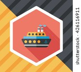 transportation ferry flat icon... | Shutterstock .eps vector #426116911