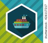 transportation ferry flat icon... | Shutterstock .eps vector #426117217