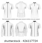 men's short and long sleeve... | Shutterstock .eps vector #426117724