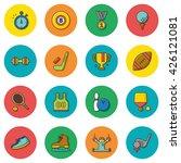 icon set sport vector | Shutterstock .eps vector #426121081