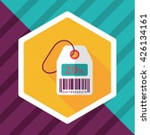 shopping sale price tag flat... | Shutterstock .eps vector #426134161