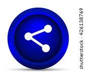 social media   link icon.... | Shutterstock . vector #426138769