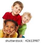 Portrait Of Three Children...