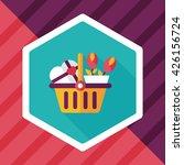 valentine's day present bucket... | Shutterstock .eps vector #426156724