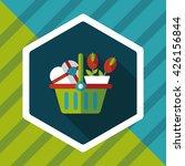 valentine's day present bucket... | Shutterstock .eps vector #426156844