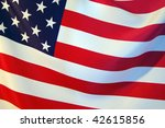 usa flag | Shutterstock . vector #42615856