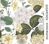 garden hydrangea flowers ...   Shutterstock .eps vector #426164545