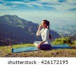 vintage retro effect hipster... | Shutterstock . vector #426172195