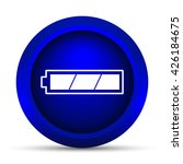 fully charged battery icon.... | Shutterstock . vector #426184675