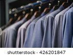 elegant suits in a men clothing ... | Shutterstock . vector #426201847