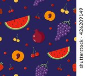 fruits background. berries... | Shutterstock .eps vector #426209149