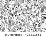 championship soccer pattern.... | Shutterstock .eps vector #426211561