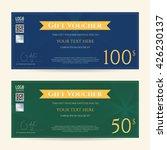 gift certificate  voucher ... | Shutterstock .eps vector #426230137