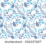 vector floral seamless pattern... | Shutterstock .eps vector #426237607