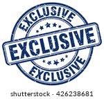 exclusive. stamp | Shutterstock .eps vector #426238681