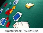 poker table | Shutterstock . vector #42624322