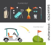 vector elements sports gear for ... | Shutterstock .eps vector #426249595
