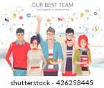 modern vector illustration  ... | Shutterstock .eps vector #426258445