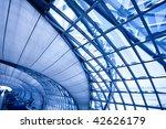 blue corridor  horizontal right ... | Shutterstock . vector #42626179
