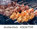 Marinated Shashlik Preparing O...