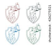 Lady Justice Logo.law And Order