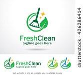fresh clean logo template... | Shutterstock .eps vector #426286414
