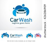 car wash logo template design... | Shutterstock .eps vector #426286909
