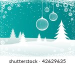 winter background | Shutterstock .eps vector #42629635