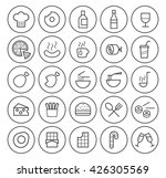 set of isolated high quality... | Shutterstock .eps vector #426305569