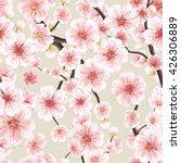 seamless background pattern of... | Shutterstock .eps vector #426306889