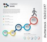 milestone and timeline...   Shutterstock .eps vector #426311197